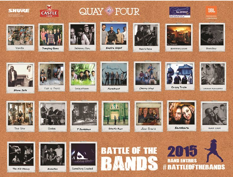 Battle of the Bands 2015 - Band Entries